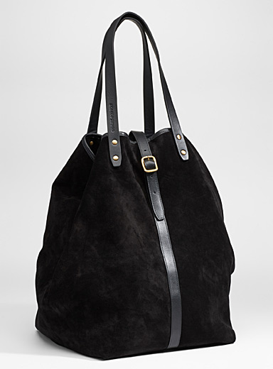 Large Market suede tote