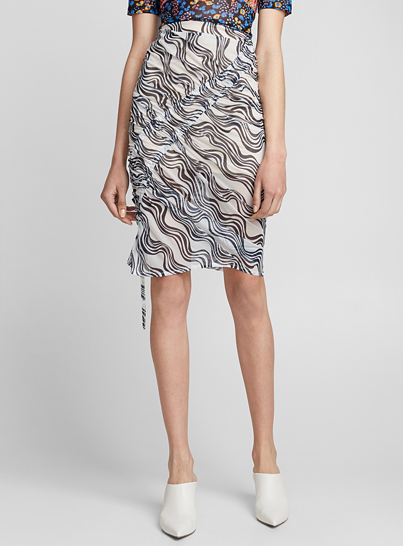 ruched-skirt