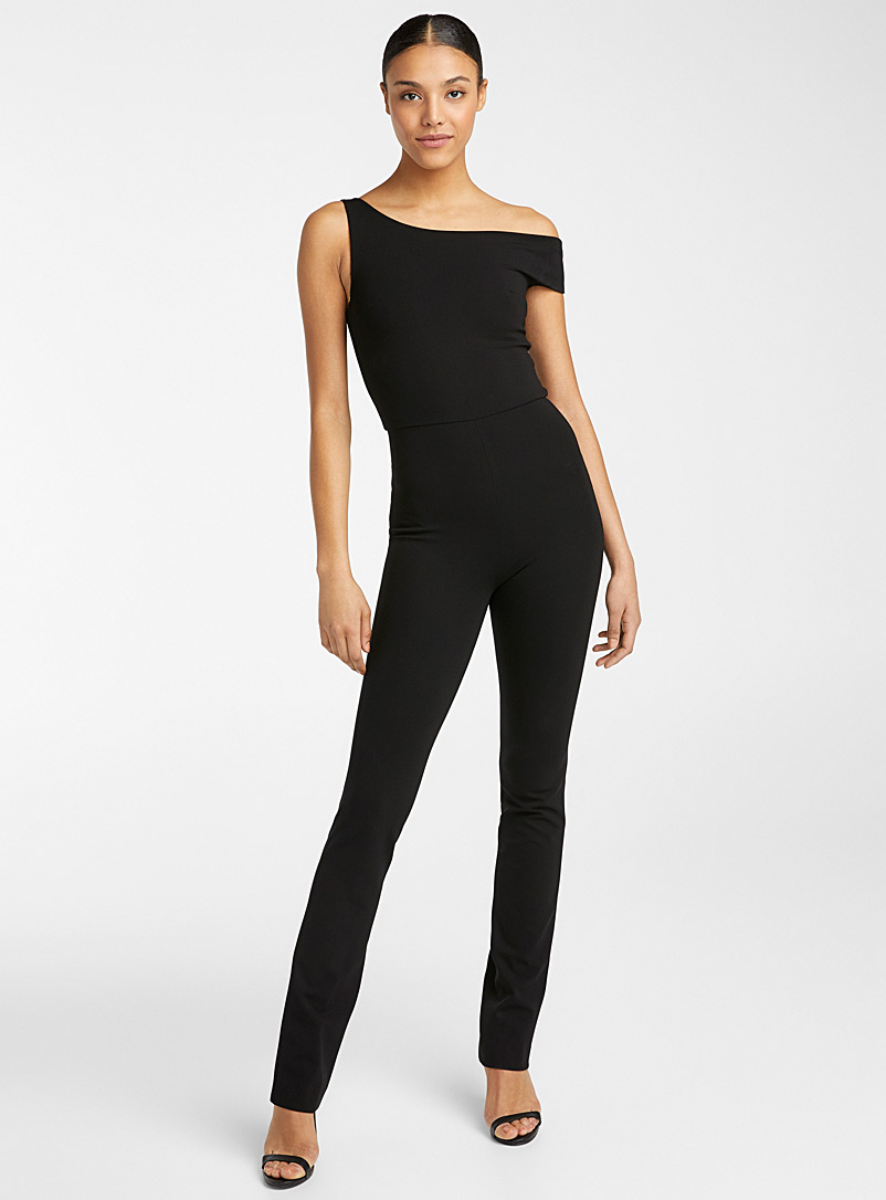 Atlein Black Spring jumpsuit for women