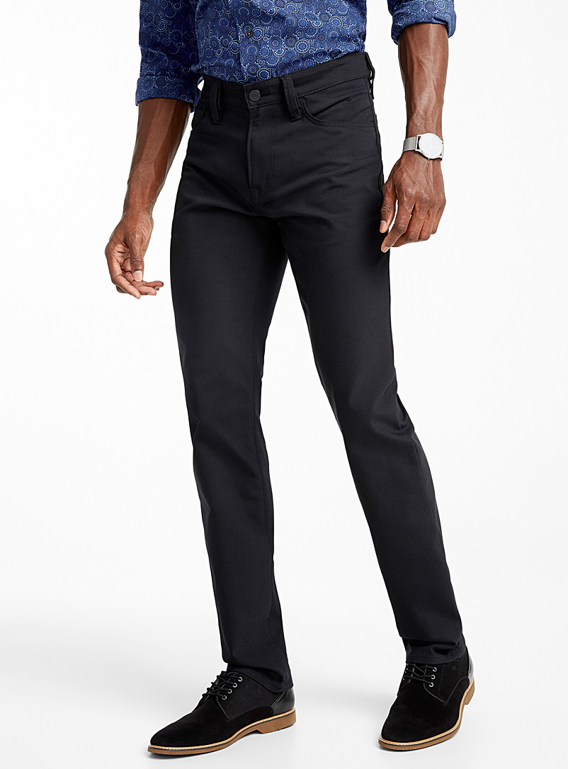 Courage black pant  Straight fit - Straight fit