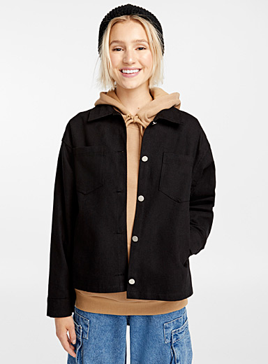 Sandy boxy jacket