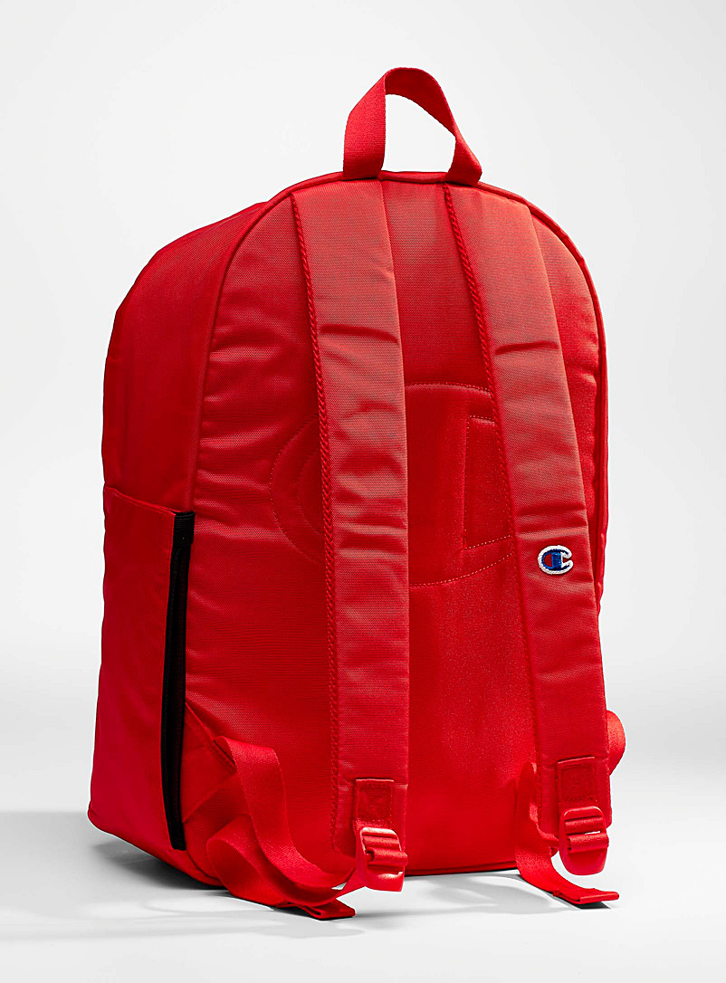 Champion Black XL Sector embroidery backpack for men
