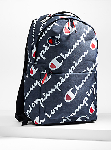 Slanted logo backpack