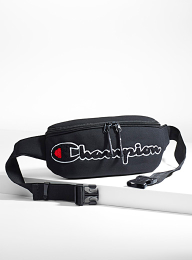 Terry logo neoprene belt bag