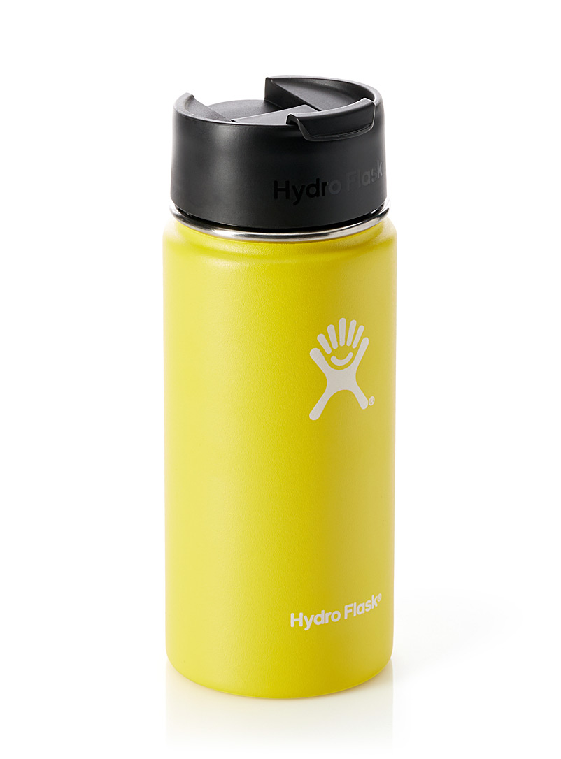 Insulated Coffee bottle - Outdoor - Bright Yellow