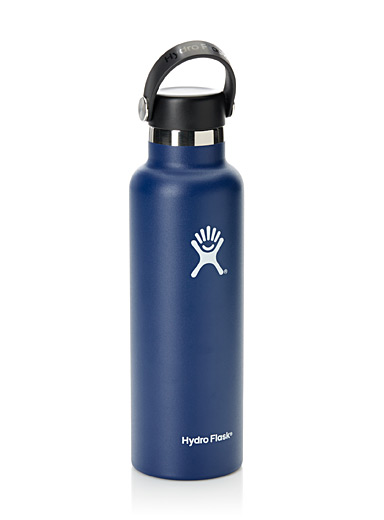 Hydro Flask: La bouteille Standard Mouth Marine pour homme