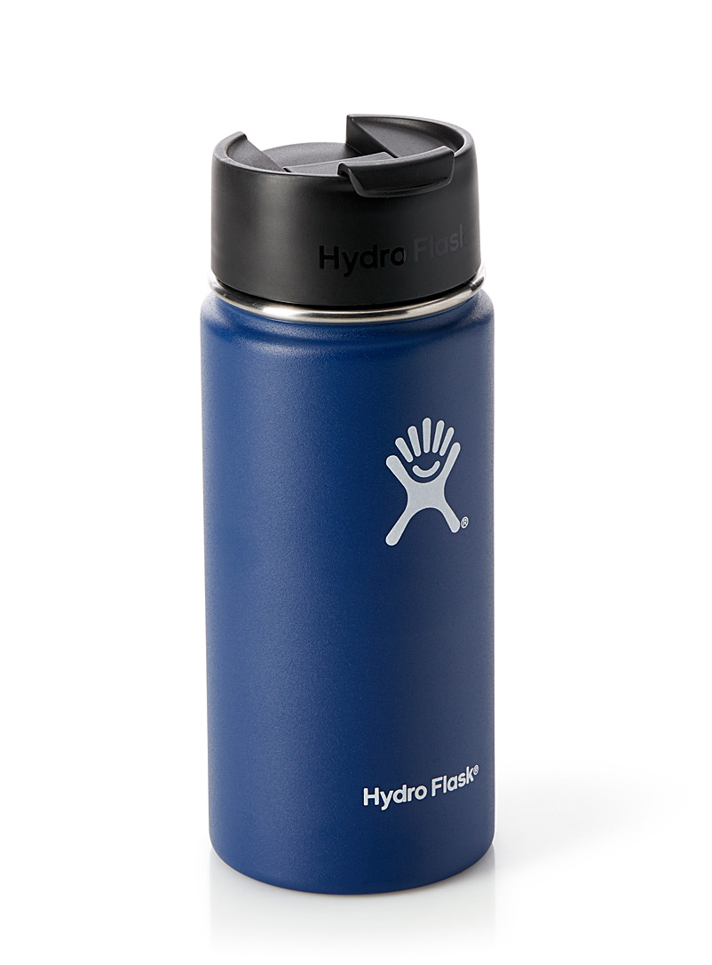 Hydro Flask Marine Blue Insulated Flex Sip Coffee bottle for men