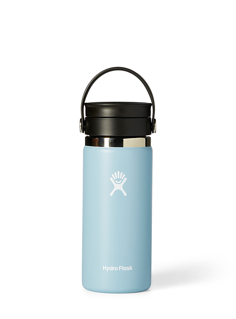Hydro Flask Baby Blue Insulated Flex Sip Coffee bottle for women