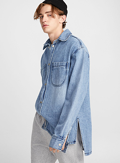 La surchemise en denim