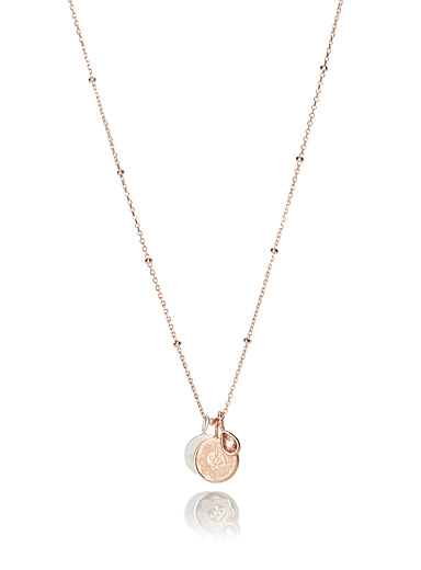 Rose gold Beyond the Sun necklace