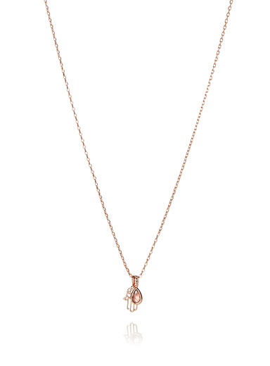 Rose gold Protection necklace