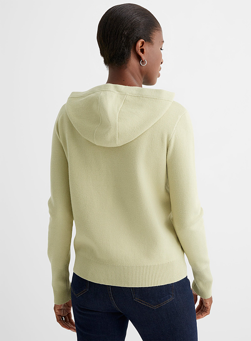 Contemporaine Charcoal Hoodie sweater for women