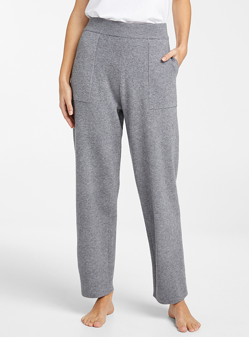 Rich knit lounge pant
