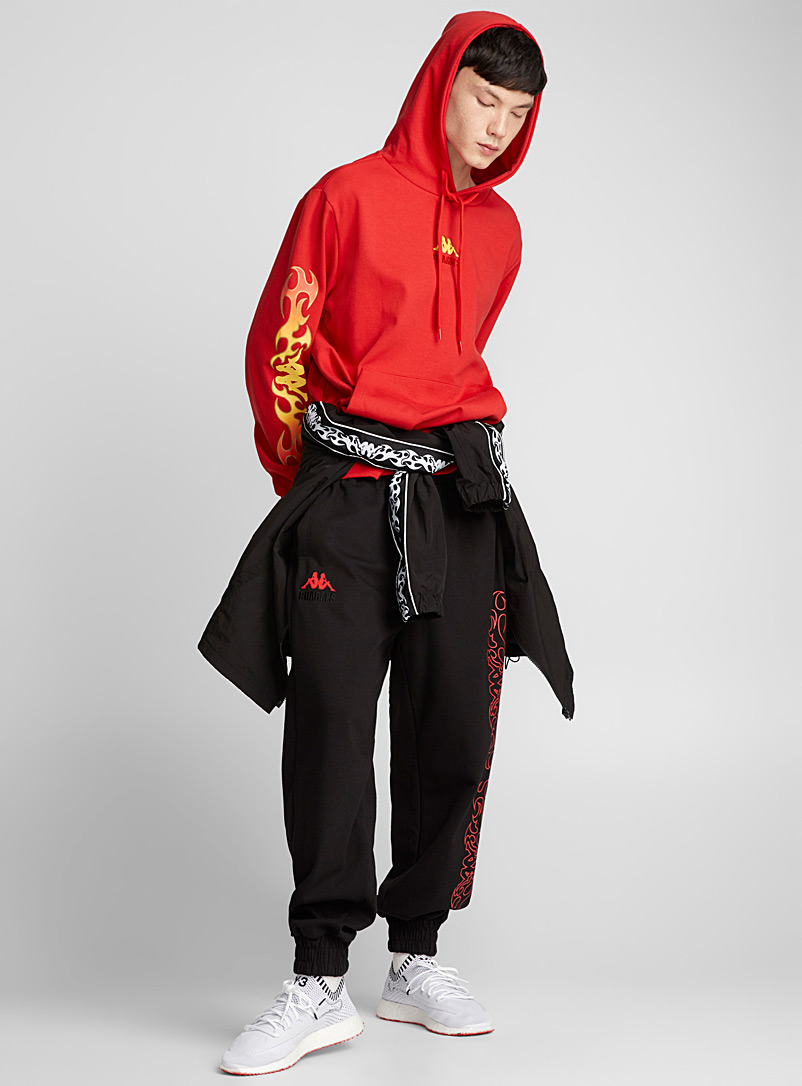 Red Flame sweatshirt - Charm's - Red