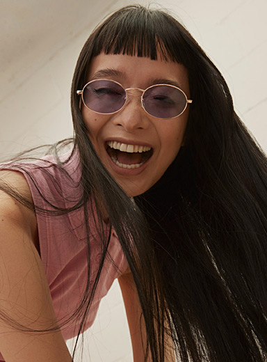 The Candy oval sunglasses