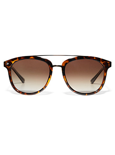 The Judge square sunglasses
