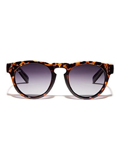 The Warhol round sunglasses