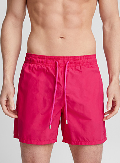 Moorea cherry-red swim trunk