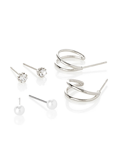 Mini earrings  Set of 3