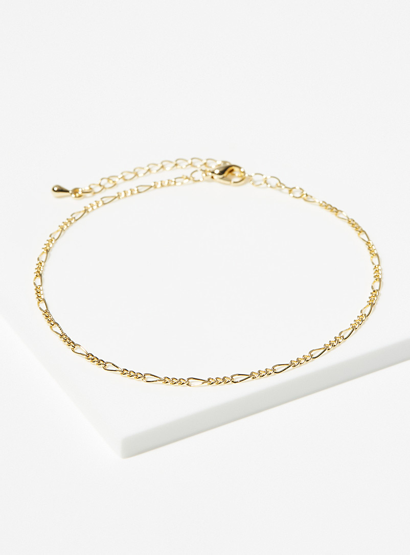 Simons Assorted Figaro-link anklet for women