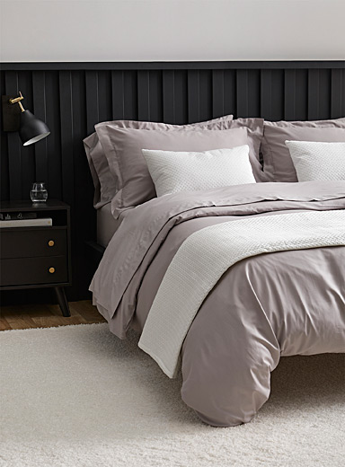 Egyptian cotton and bamboo duvet cover set <br>330 thread count
