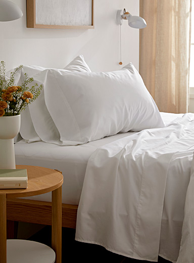 Egyptian cotton and bamboo sheet set, 330 thread count