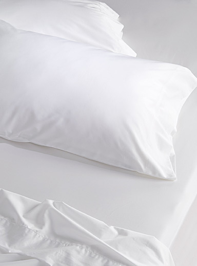 Egyptian cotton and bamboo pillowcase set, 330 thread count