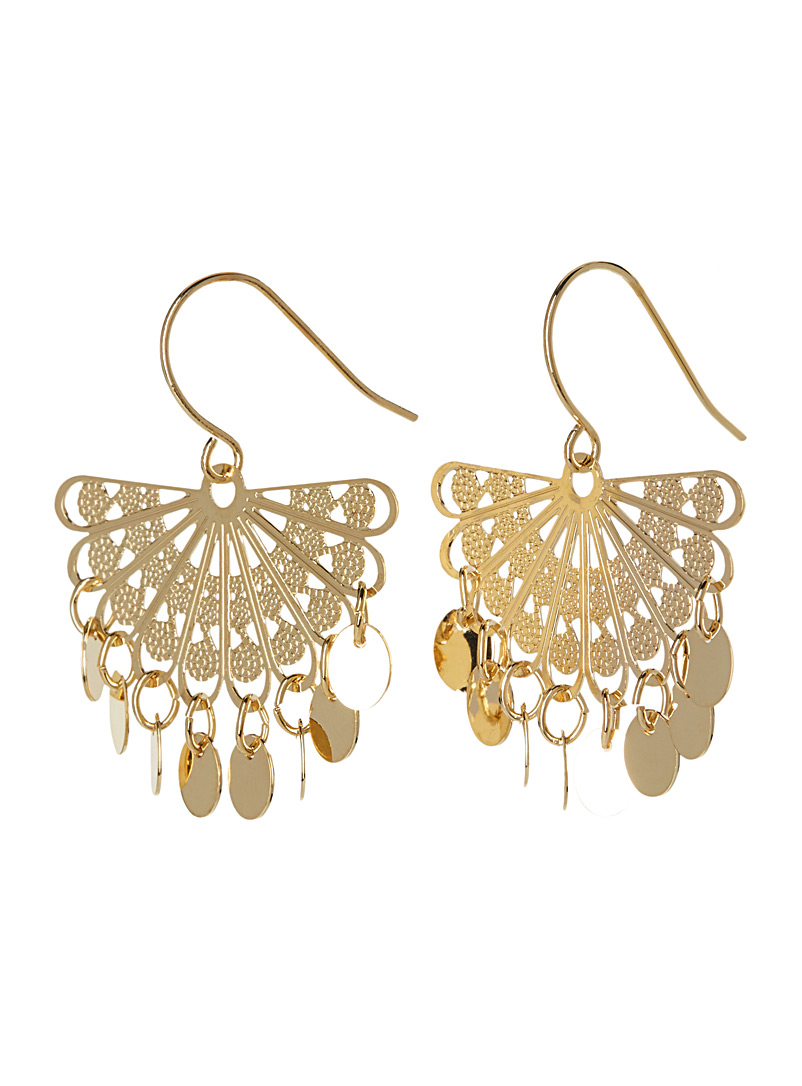 golden-fan-earrings