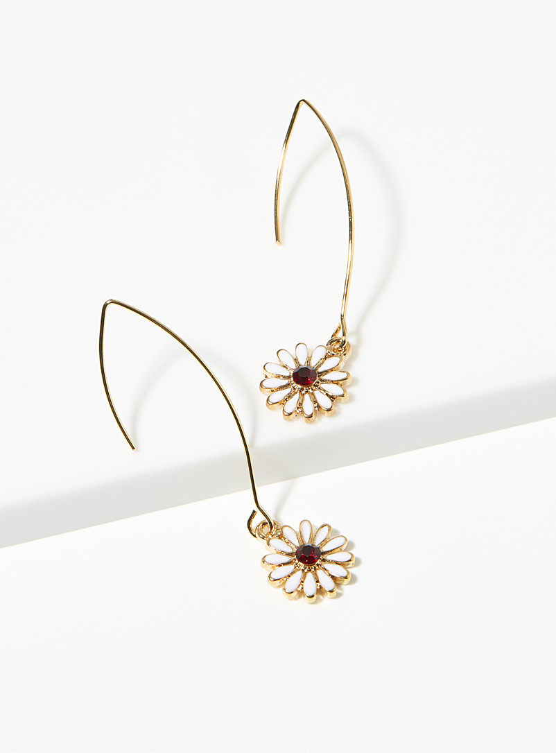 Simons Assorted Daisy earrings for women