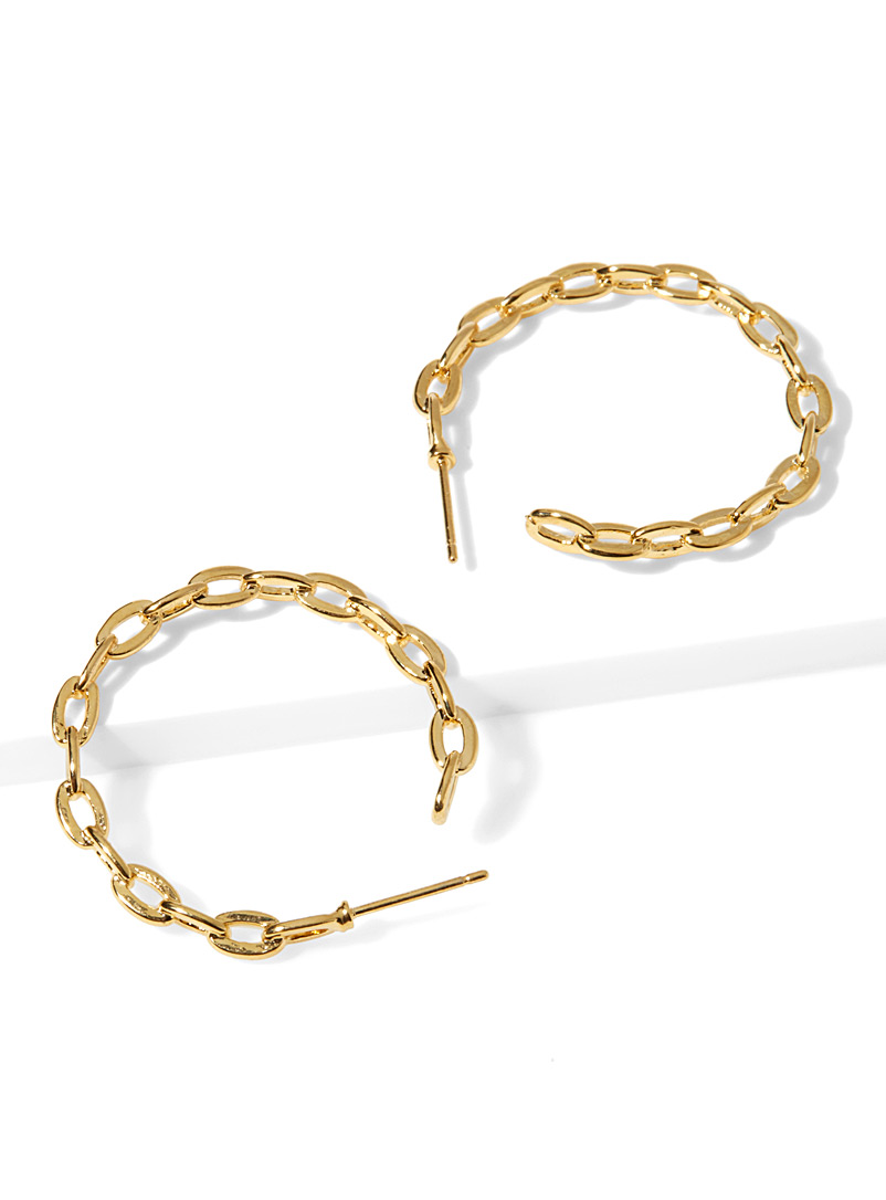 Chain hoops - Earrings - Assorted