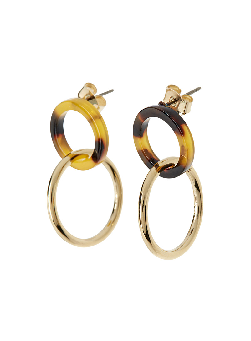Two-way hoop earrings - Earrings - Assorted