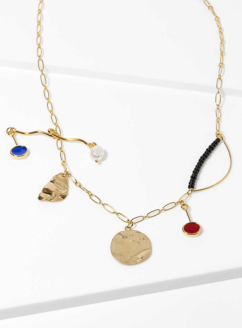 Artistic pendant necklace - Necklaces - Assorted
