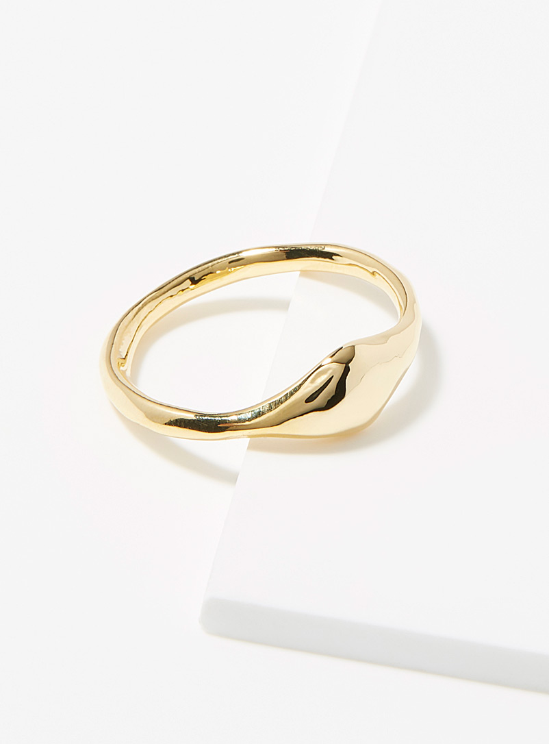 minimalist-hammered-ring