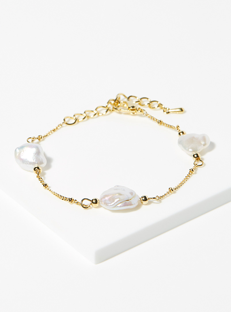 Simons Assorted Freshwater pearl bracelet for women