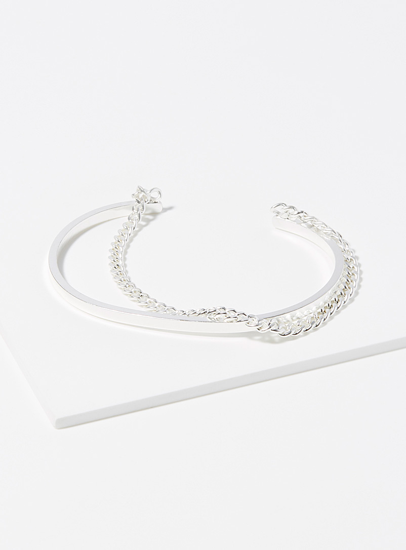 Chain and bar bracelet - Bracelets