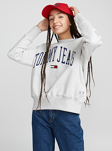 Le sweat uni Collegiate