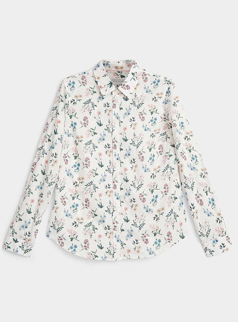 Contemporaine Assorted Liberty floral shirt for women