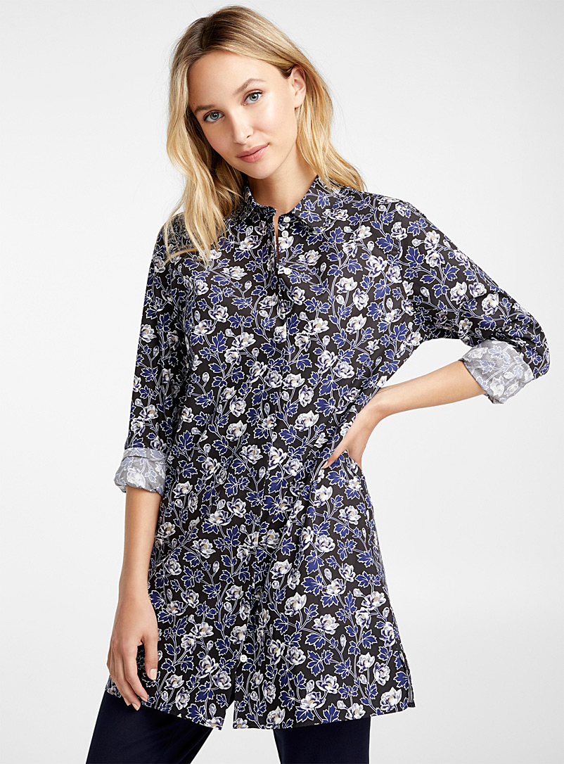 Contemporaine Linley Liberty floral tunic for women