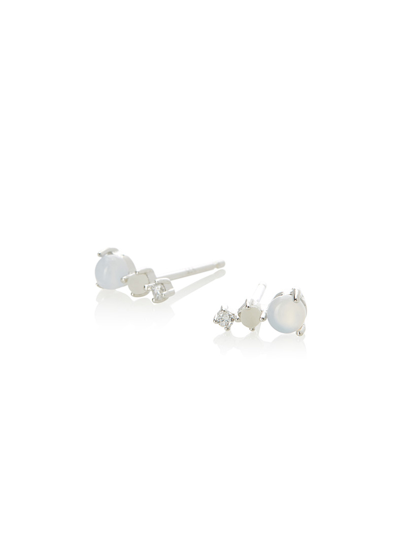 Maars earrings - Earrings - Silver