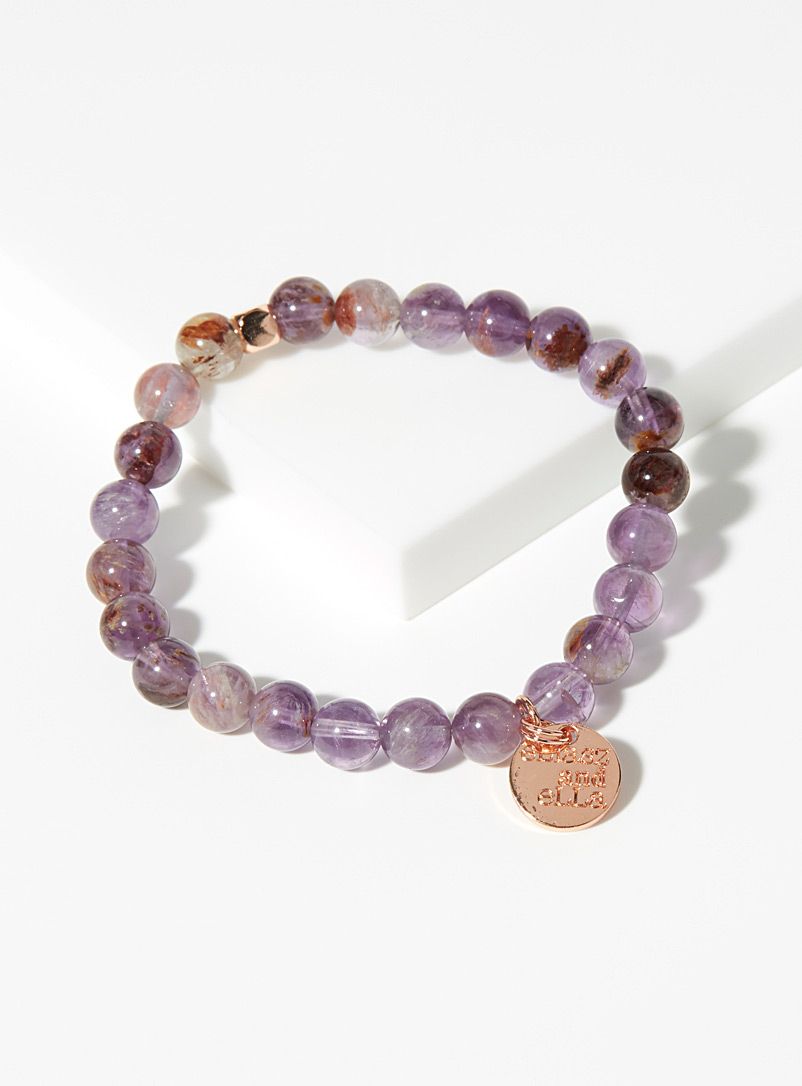 Eliasz and Ella Assorted purple Marchioness bracelet for women