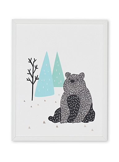 Solitary bear art print  15&quote; x 18&quote;