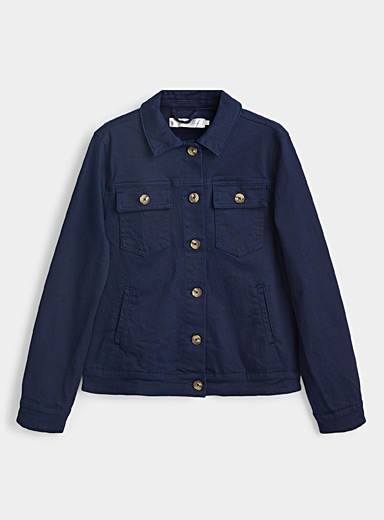 Organic cotton denim jacket