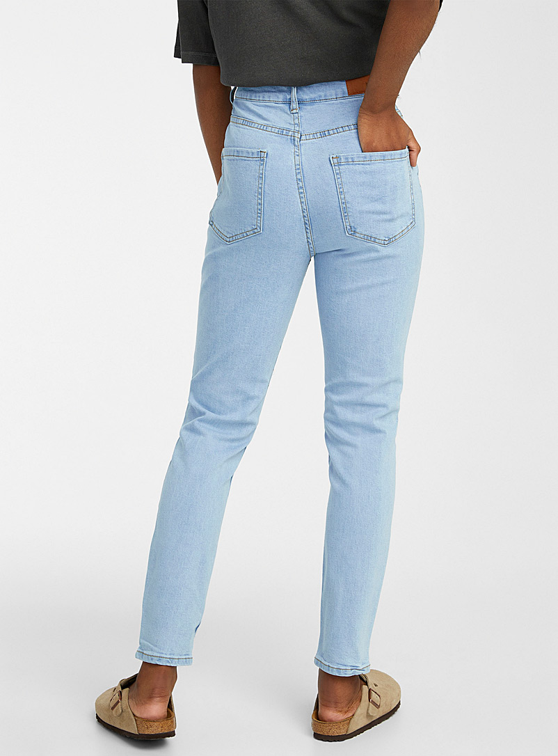 Twik Oxford Faded slim-fit mom jean Indie fit for women