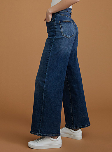 Le jeans large denim vintage