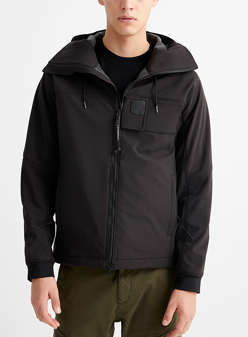 C.P. Company Black Urban Protection shell jacket for men