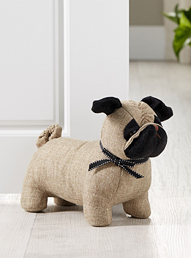 Simons Maison Light Brown Pug door stop
