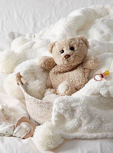 Microwavable comforting teddy bear <br>24 x 32 cm