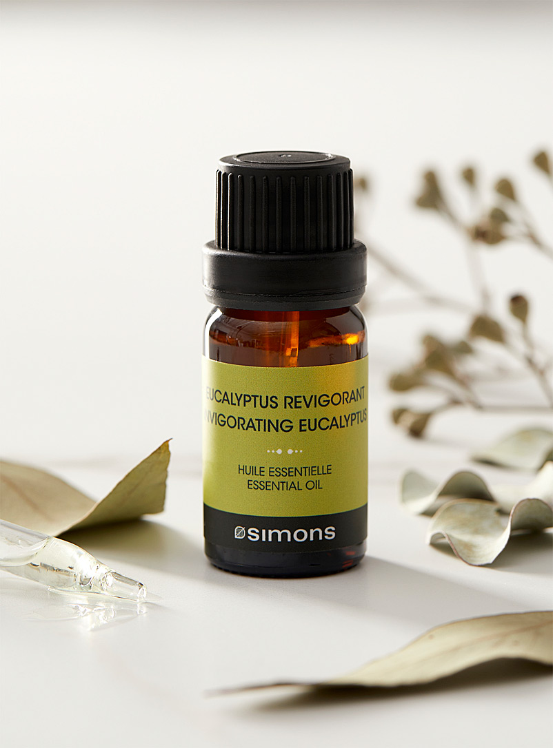 Invigorating eucalyptus diffusing oil