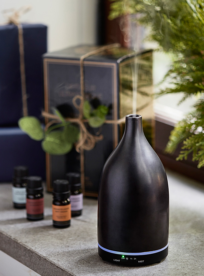 Ultrasonic diffuser - Body Care & Home Fragrances - Black