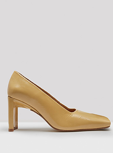 Miista Golden Yellow Alicja Goldenrod pumps for women